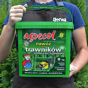 Добриво Agrecol для газону Швидкий килимовий ефект 5кг