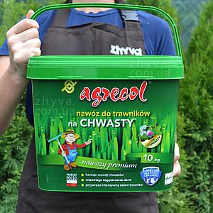 Добриво Agrecol для газону від Бур'янів 10 кг