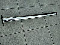 Нога мебельная  60/710 хром d-12мм