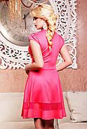 Женское молодежное платье,полуприлегающего силуэта Лилия / размер 42-50 / цвет коралл, фото 2