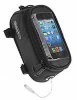 Сумка на раму под смартфон Roswheel 4,8˝ 12496M-CA5 черный