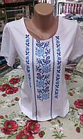 Вышиванка женская футболка белая, фото 1