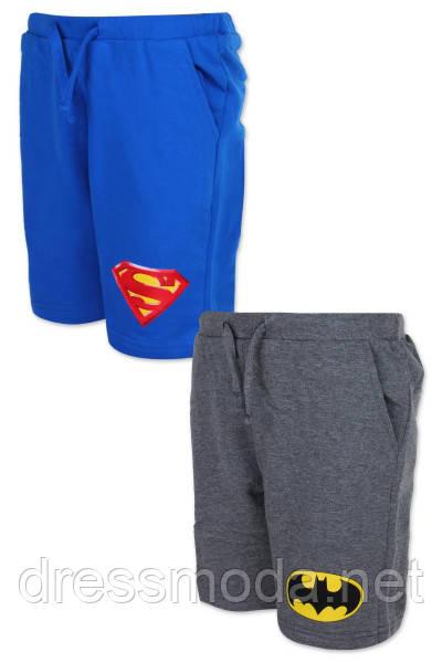 Трикотажные шорты для мальчиков Superman 98-128 р.р.