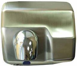 Сушилка для рук металлическая, сатиновая zg-912S