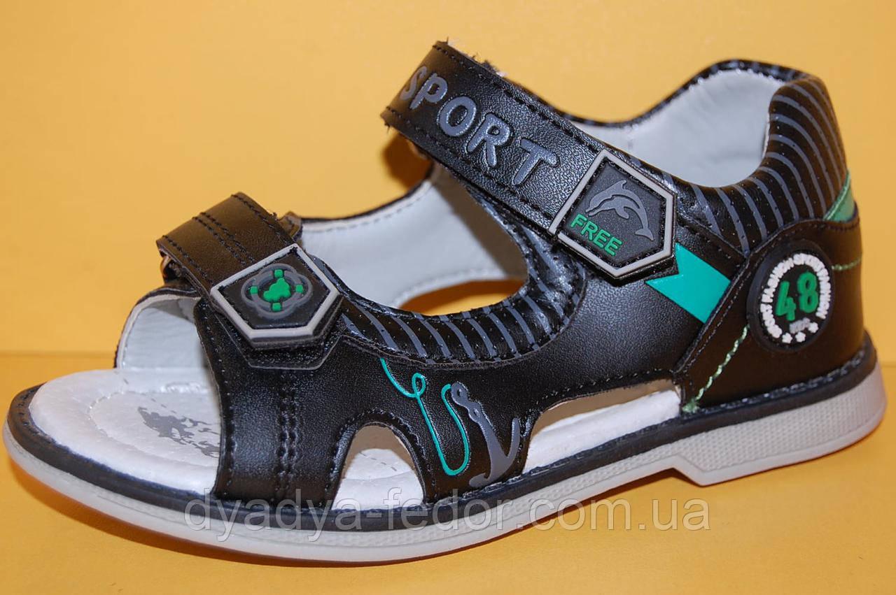 Детские сандалии ТМ Том.М код 1992 черный размеры 26-31