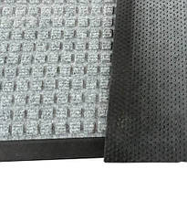 Грязезещитный коврик ватер-холд  120*180 серый