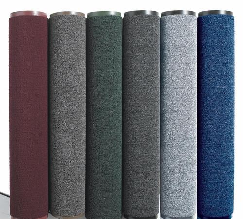 Грязезещитный коврик  в рулоне шириной 90 см, серый