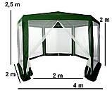 Садовая палатка 2x2x2, фото 4