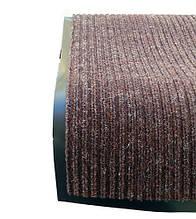 Грязезащитный коврик дабл стрипт, 120*150 коричневый