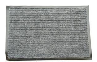 Грязезащитный коврик дабл стрипт, 120*150 серый