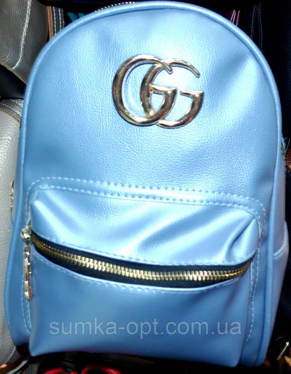 19e6ee91828e Городские рюкзаки Китай опт Gucci (голубой)23*28: продажа, цена в ...
