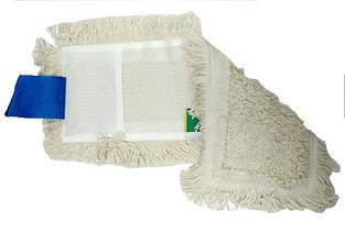 Моп (вкладыш) с карманами и отворотами для уборки пола 40 см. Nzs028wp