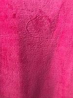 Ткань махра велсофт полированная малиновый