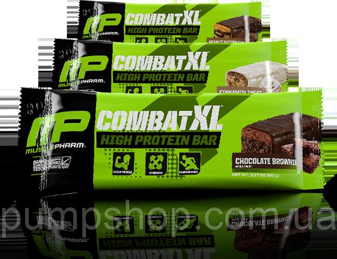 Батончик MusclePharm Combat XL High Protein Bar 90 г (1 шт.)