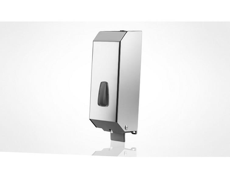 Дозатор жидкого мыла, нержавеющий корпус, глянец 1,2Л a54200sap