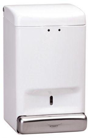 Дозатор жидкого мыла, металл белый 1,1Л dj0030