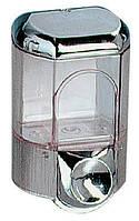 Дозатор жидкого мыла, пластик хром 0,35л acqualba a56100