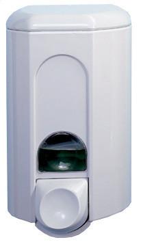 Дозатор жидкого мыла, пластик белый 1,1Л acqualba a56311win