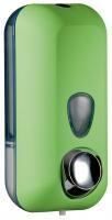 Дозатор жидкого мыла, пластик зеленый 0,55Л colored a71401ve