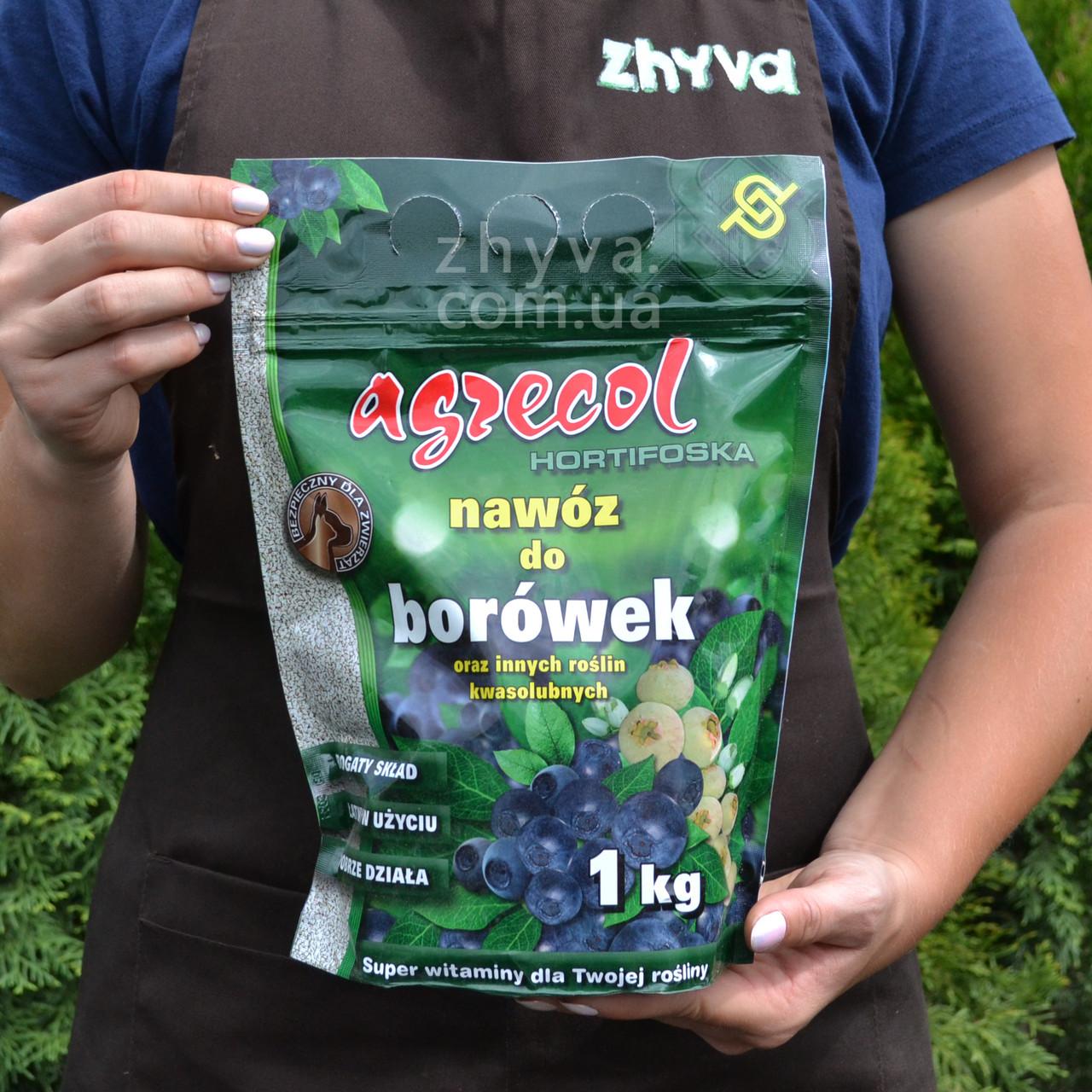 Добриво Agrecol для чорниці, лохини Hortifoska 1кг