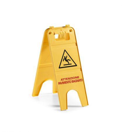 """Предупреждающая табличка """"мокрый пол"""" 3688."""