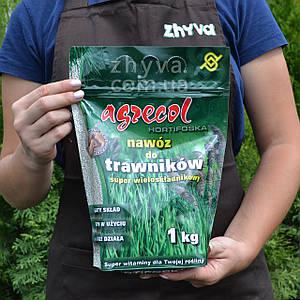 Добриво Agrecol для газонів Hortifoska 1кг