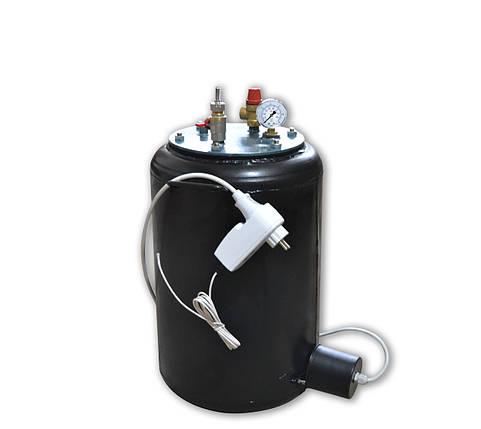 Автоматический автоклав электрический Утех24 (черная сталь 2.5 мм / 24 банки 0,5), фото 2