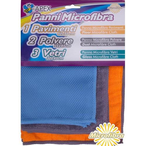 Набор салфеток микрофибра 3 шт