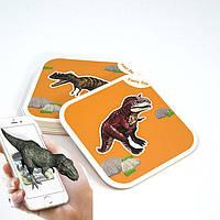 Развивающая игра - 4D карточки AR CARD FANCY ZOO