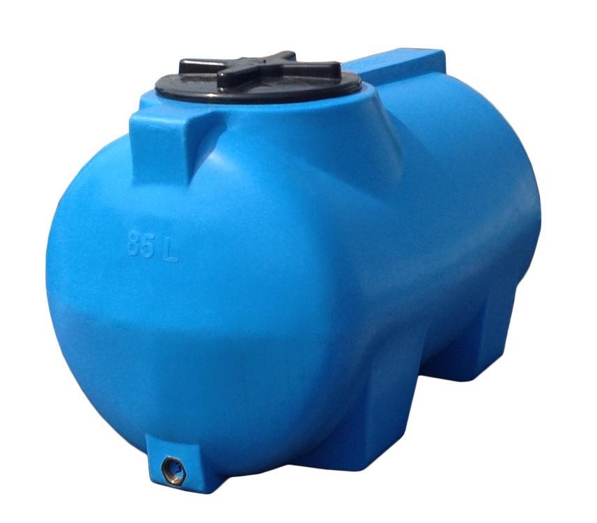 Горизонтальная  емкость 85  литров