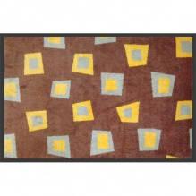Нейлоновый коврик на резиновой основе,ir.h.ec-90X120-orange