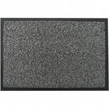 Коврик полипропиленовый на основе пвх с ворсом moss-ch-40X60-gray