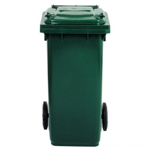 Контейнер для сміття 120л зелений tts Італія
