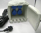 Садовая розетка (удлинитель) AquaFall CSB-104, фото 5
