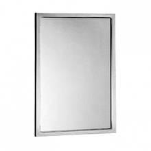 Зеркало с окантовкой из нержавеющей стали,290_1830
