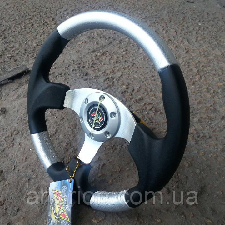 Руль спортивный №577 (серый).
