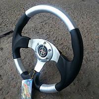 Руль спортивный №577 (серый)., фото 1