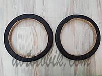 Подиумы однослойные под 17-17,5 см динамики проставка 20 мм черные (2 шт.)