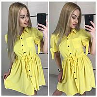 Платье рубашка на лето 2018