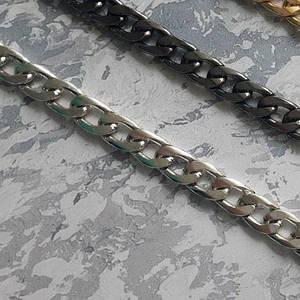 Цепочка для сумки,серебро 3х13х17 мм
