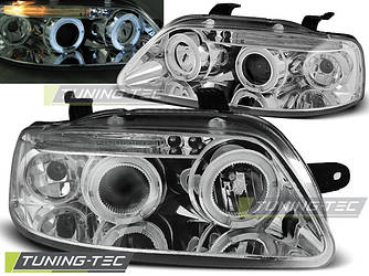 Передние фары тюнинг оптика Chevrolet Aveo