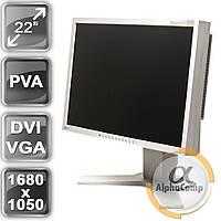 """Монитор 22"""" EIZO S2231W (PVA/16:10/DVI/VGA/USB/колонки) class B БУ"""