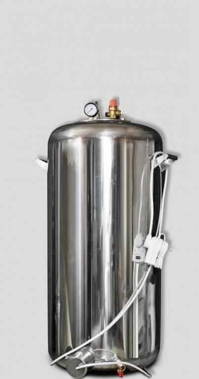Автоклав большой из нержавеющей стали с термостатом А100 электро (100 банок 0,5)
