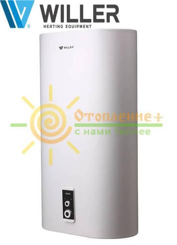 Электрический водонагреватель WILLER EV80DR grand, плоский, сухой тен
