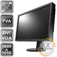 """Монитор 22"""" EIZO S2243W (PVA/16:10/DVI/VGA/USB/колонки) class B БУ"""