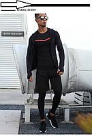 Спортивный мужской комплект EVS Combo 4 Black