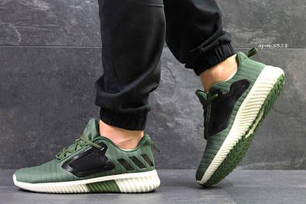 Кроссовки мужские Adidas ClimaCool,сетка,темно зелёные 42,44,45, фото 2