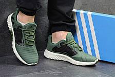Кроссовки мужские Adidas ClimaCool,сетка,темно зелёные 42,44,45, фото 3