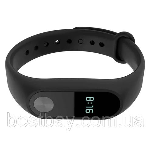 Ремешок для Фитнес-трекера Xiaomi Mi Band 2 Черный, фото 2