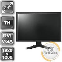 """Монитор 24"""" EIZO EV2411W (TN/16:10/VGA/DVI/USB/колонки) class B БУ"""